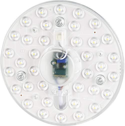 LED Modul 230V -18W 1800lm - Umrüstsatz mit Magnethalterung - für Deckenleuchte Wandleuchte - warmweiß (3000 K)