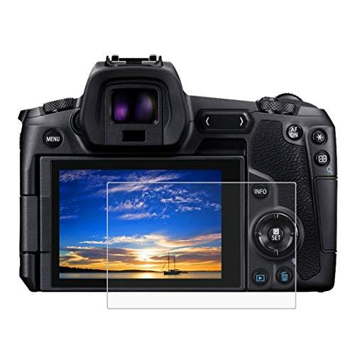 Gehärtetem Glas Displayschutzfolie für Canon EOS R, 0,3 mm ultraklare LCD-Schutzfolien mit 9H Härte, Anti-scrach, Blasenfreie, Anti Fingerprint (EOS R)