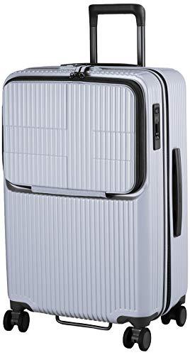 [イノベーター] スーツケース グッドサイズ スリムトップオープン 多機能モデル INV60 保証付 62L 65 cm 4kg グレー