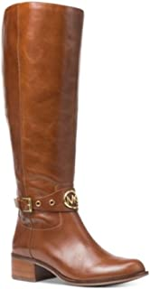 Michael Michael Kors Heather Wide Calf Riding Boots Caramel Size 5M