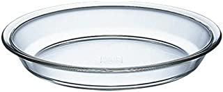 iwaki(イワキ) 耐熱ガラス パイ皿 外径25×高さ3.8cm Lサイズ KBC209