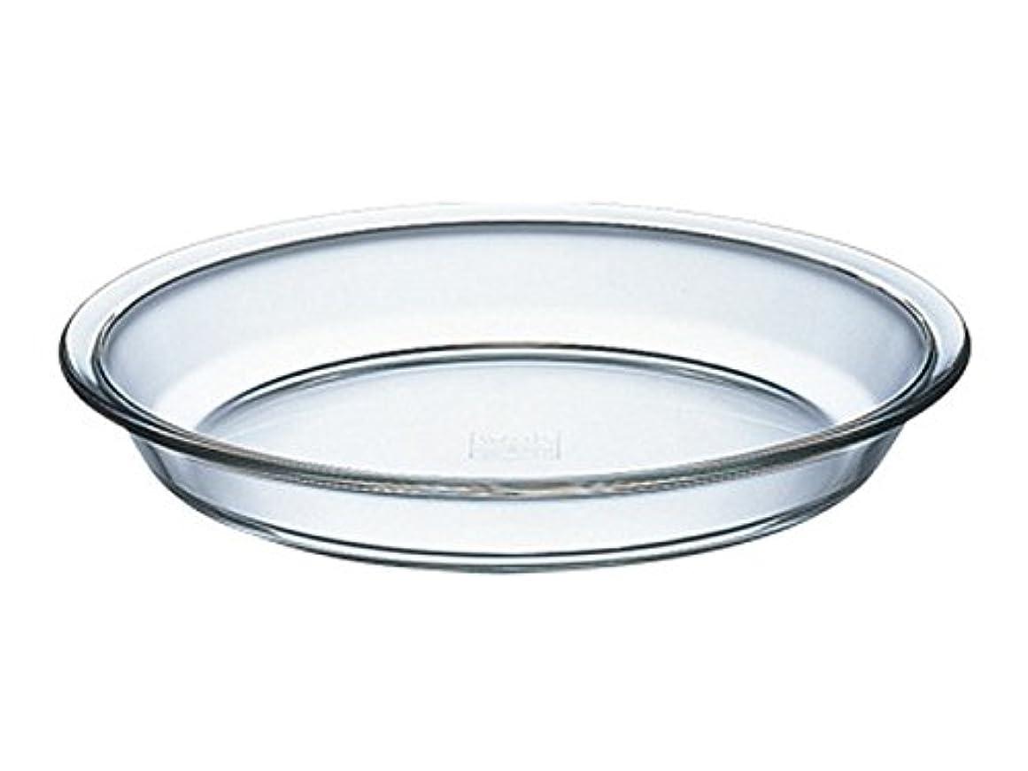 書道塩辛いメンターiwaki ベーシックシリーズ パイ皿 Lサイズ KBC209