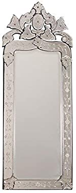 QUALITY MIRRORS Trapezoid Wall Mirror (46 x 16)