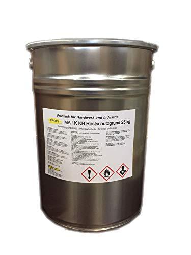 Rostschutzfarbe Grundierung PROFI Primer Grau Zinkphosphat 25kg