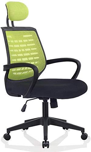 Silla de Oficina Silla DE Oficina, REPORTE DE LA Oficina DE LA Oficina DE LA Oficina DE LA Oficina DE LA Oficina DE LA Oficina DE LA Oficina DE LA Oficina ERGONÓMICA (Color : Green)