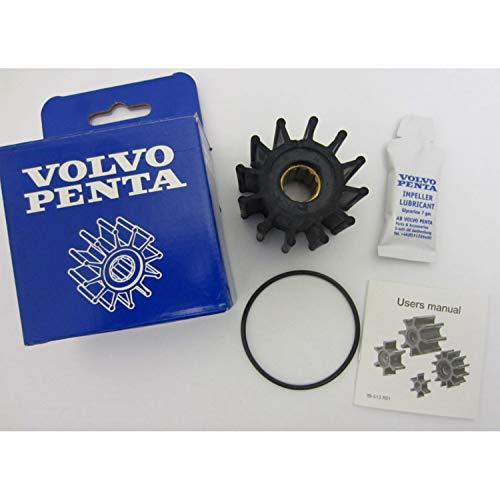 HZYCKJ Water Pump Impeller Inboard Engine Cooling Impeller Compatible for Volvo Penta OMC Cobra OEM # 3862281 21951346 825940