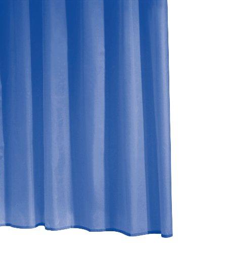 Ridder Standard Uni 31433S-350 Rideau de douche avec oeillets Bleu 240 x 180 cm