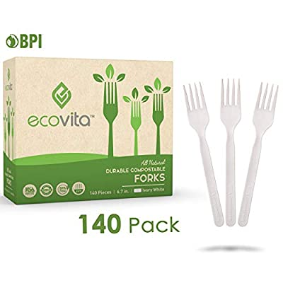 Ecovita Compostable Forks