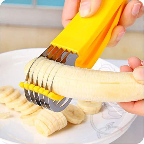 NANHAI Séparateur de trancheuse de Banane Tranche Simple et Parfaite*1pcs, décoration de Fruits Outils de Cuisine