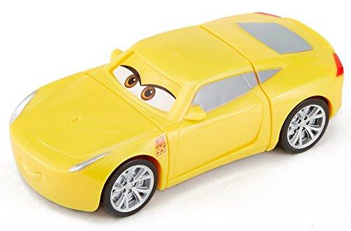 Cars Superchoques Vehículo Cruz Ramirez, coche de juguete (Mattel DYW40)