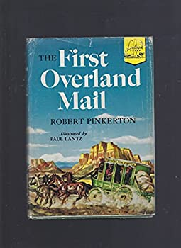 Hardcover The first overland mail, (Landmark books) Book