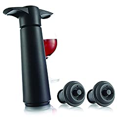 vacu vin vacuum wine saver gift for wine lovers