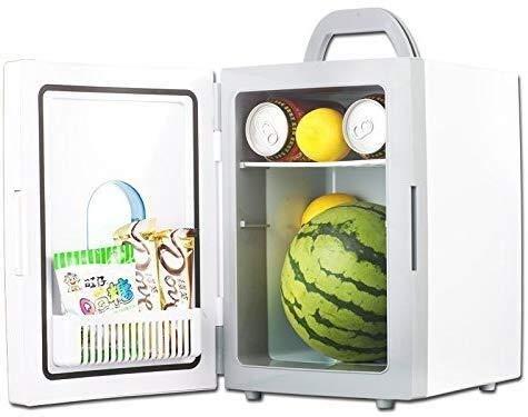 Fee-ZC Verdikking, stille koelkast, desktop minibar, draagbare auto, 10 l, voor thuis en in de auto, multifunctionele praktische slaapzaal, outdoor-reizen