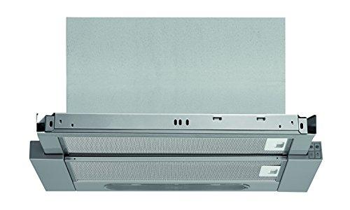 Bauknecht DBAH 64 AM X Dunstabzugshauben/Flachschirmhaube/ 60 cm /Mechanische Steuerung / silbergrau / Abluft- & Umluftbetrieb geeignet