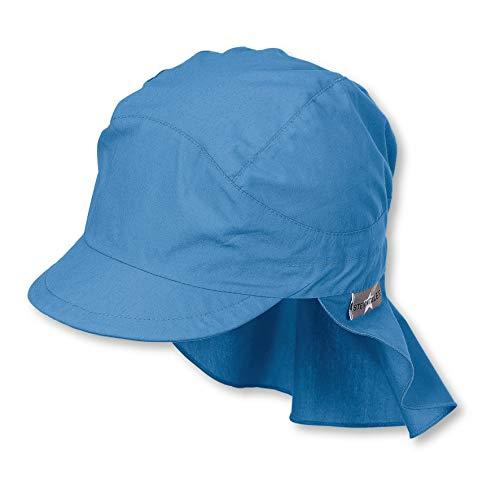 Sterntaler Schirmmütze für Jungen mit Nackenschutz, Alter: 18-24 Monate, Größe: 51, Samtblau