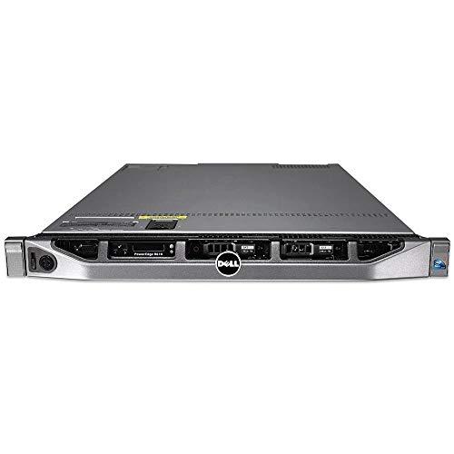 Dell PowerEdge R610-2xIntel Xeon 4Core L5640 (12M Cache, 2.43 GHz) 32GB DDR3 Reg, HDD 2X 600GB SAS 2.5 pulgadas, Rack 1U, Perc6i Raid Controller(Reacondicionado)