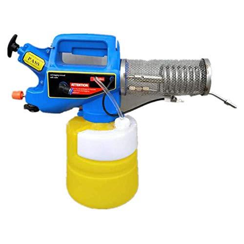 XOあ ULV-Nebelmaschine, tragbares Ultra-Micro-Spritzgerät, intelligentes ULV-Spritzgerät Nebelgerät Zerstäuber-Sprühgerät Mosquito Killer Fogger Desinfektion für die Innen- und Außenhygiene, 1 l