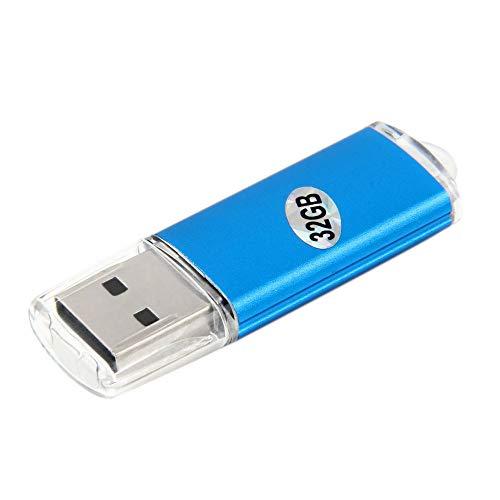 Ersuo Grande capacità 32 GB 32 GB USB 2.0 Mini Thumb Memory Stick Pen Flash Drive Blu unità Flash USB ad Alta velocità di Dimensioni Portatili