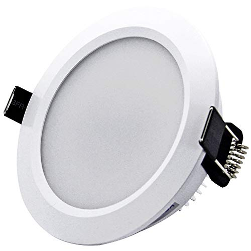 Downlight LED Lámpara de Techo de Techo de Tres Colores Tono Variable incrustado AC100~240V, 1 Paquete Light Living Room Spotlight [Energy Class A + (Size : 5W)