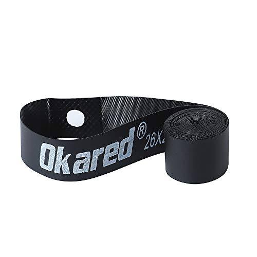 Okared 2 Pack Bicycle Rim Strip Rim Tape (26