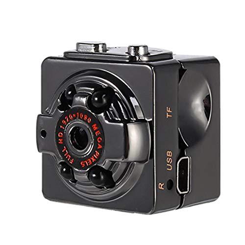 KHHGTYFYTFTY Cámara inalámbrica DV Mini cámara de Bolsillo de la cámara de vigilancia del hogar para los Deportes al Aire Libre DV del Ministerio del Interior Negro