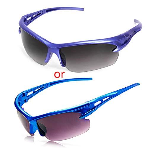 changzhou Gafas de Ciclismo Anti-UV Gafas Gafas Gafas de Montar Ciclismo Deportes Gafas de Sol de Gafas de Sol de Hombre de las Mujeres Deportes al aire libre Gafas de Sol, color marrón, tamaño talla única