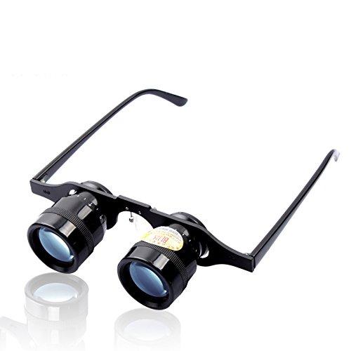 ランフィー BIJIA 10x34 双眼鏡 10 x メガネ望遠鏡スーパーロービジョンゴーグルハイキング眼鏡ハンティング