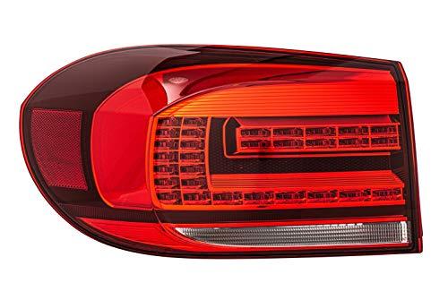 HELLA 2SD 011 715-051 Heckleuchte - LED - weiß/rot - äusserer Teil/oberer Teil - links - für u.a. VW Tiguan (5N_)