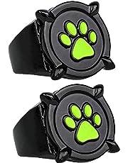 GSTX 2 Piezas de Anillo Cat Noir para niños Adultos, Anillo de Mariquita Anime Cosplay, Anillo de Dedo, para Accesorios de Disfraces de rol, Accesorios