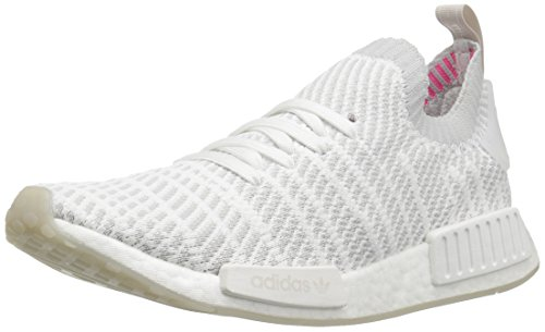 adidas Originals Herren NMD_R1 STLT PK, White/Grey One/Soft Pink, 41 EU