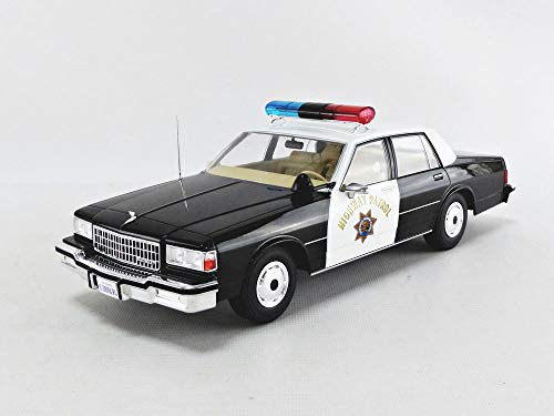 Chevrolet Caprice, California Highway Patrol , 1987, Modellauto, Fertigmodell, MCG 1:18