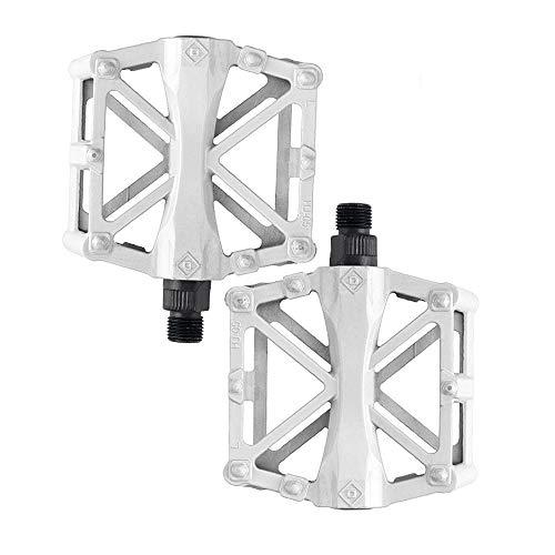 Pedales de bicicleta de aluminio de JunFeng, pedales de bicicleta antideslizantes, duraderos,...