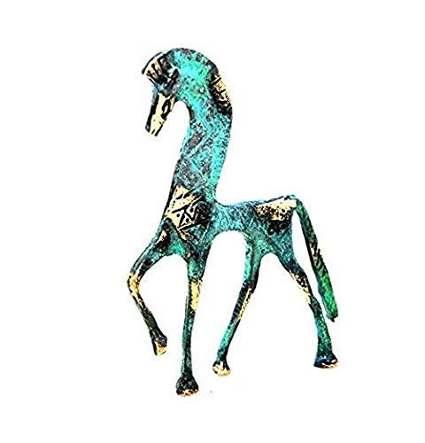 Antike griechische Bronze Museum Statue Replica of Horse von Geometrische Era (123)
