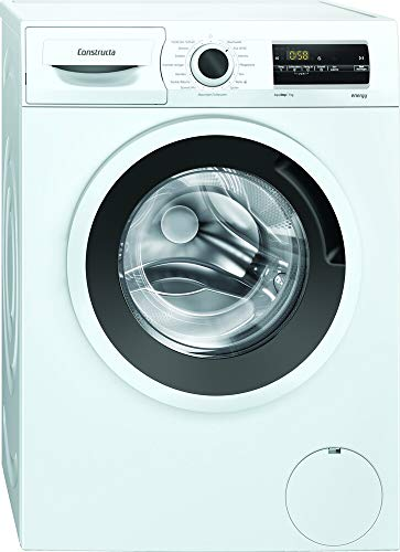 CONSTRUCTA CWF14N11 Waschmaschine Frontlader freistehend 7 kg Aqua Stop EEK: D