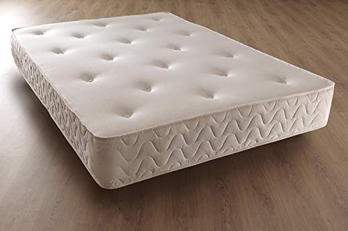 BedzGalore 5ft kingsize orthopaedic memory sprung mattress - 150cm x 200cm, 10inch thick