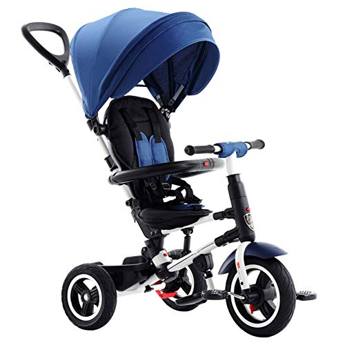 Buy Bargain Zjnhl Children's Fun/Children Tricycle First Bike Stroller 3 In1 Foldable WiRemovable Pu...