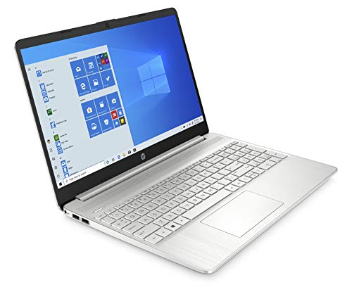 HP 15 Ryzen 3 15.6-inch FHD Laptop (4GB/256GB SSD/Vega 3 Graphics/Win 10/Natural Silver/1.69 Kg), 15s-ey1002au