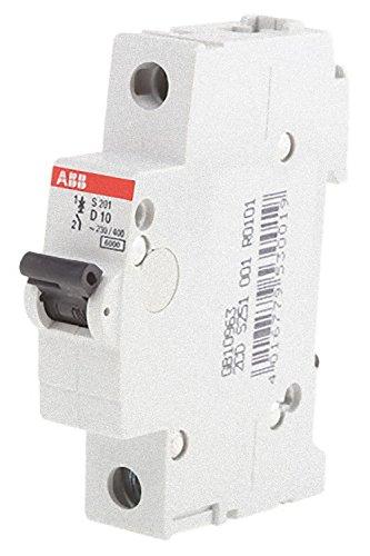 ABB 2cds251001r0101System Pro M Compact Miniatur Leitungsschutzschalter, Single Pole, Typ D, 10A Nennstrom, 88mm H x 17,5mm W x 69mm D
