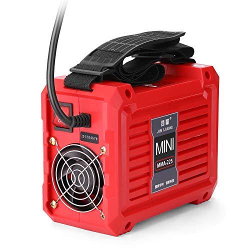 Btuty 20-225A MMA-225 - Máquina de soldadura eléctrica mini inversor doméstico portátil...