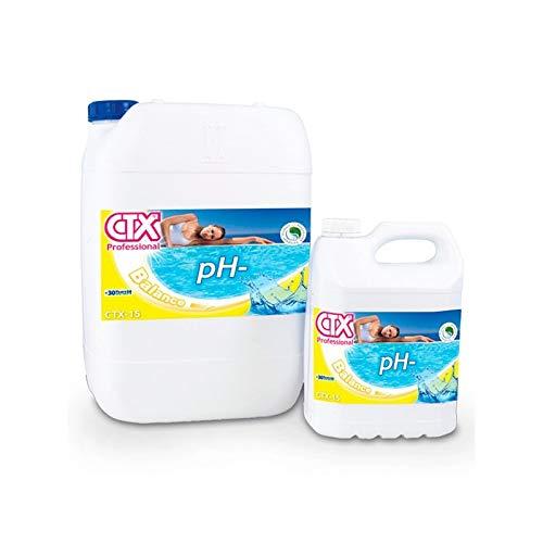 Fluidra CTX-15 Minorador de pH líquido - ENVASE 20 litros - Ref 73670