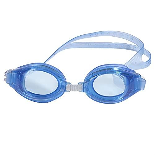 Piscina Profesional para Adultos para niños Gafas de baño Ajustables Impermeables (Color : Yellow, Size : One Size)