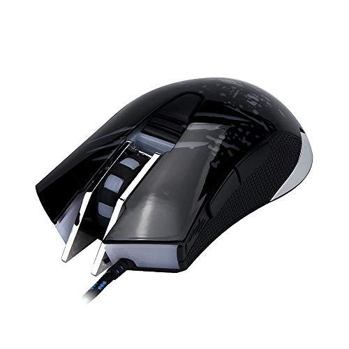 GMZHH 2018 nieuwe professionele 6 knop bedrade gaming muis LED optische gaming muis voor PC laptop goed 25 Groen