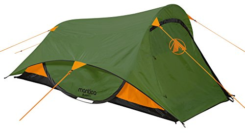 """GIGATENT 7.25' X 4 POP UP 2 Person Backpacking Tent 48"""" Entrance Height with Fully Taped Large Fly"""