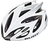 Rudy Project Rush - Casco de Bicicleta - Gris/Blanco Contorno de la Cabeza S | 51-55cm 2019