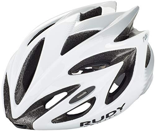Rudy Project Rush Helm White/Silver Shiny Kopfumfang M | 54-58cm 2020 Fahrradhelm