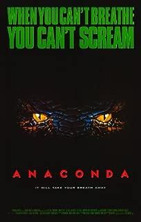 anaconda 1997 movie poster