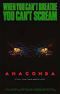 Best anaconda 1997 movie poster Reviews