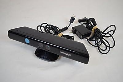XBOX 360 Microsoft Kinect Sensor Bar Only Black 1414 Wired Motion Sensor Camera from Microsoft