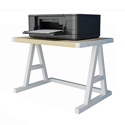 Soporte para Impresora Soporte de sobremesa for la impresora de escritorio estante for el Espacio Organizador (hardware y acero) Estante de almacenamiento, estante de libro, Bandeja Doble Nivel de imp