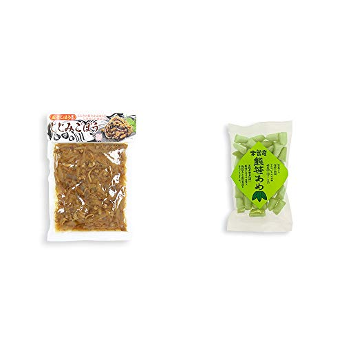 [2点セット] しじみごぼう(300g)・木曽産 熊笹あめ(100g)